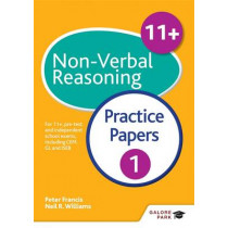 11+ Non-Verbal Reasoning Practice Papers 1: For 11+, pre-test and independent school exams including CEM, GL and ISEB by Neil R. Williams, 9781471849305