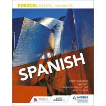 Edexcel A level Spanish (includes AS) by Mike Thacker, 9781471858314