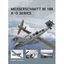 Messerschmitt Bf 109 A-D series by Adam Tooby, 9781472804860