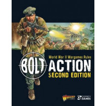 Bolt Action: World War II Wargames Rules: Second Edition by Warlord Games, 9781472814944