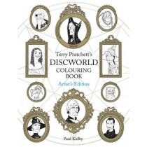 Terry Pratchett's Discworld Colouring Book: Artist's Edition by Paul Kidby, 9781473221048