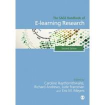 The SAGE Handbook of E-learning Research by Caroline Haythornthwaite, 9781473902329