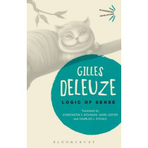 Logic of Sense by Gilles Deleuze, 9781474234887