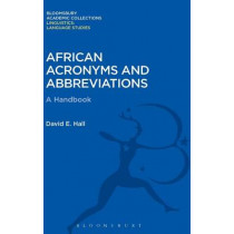 African Acronyms and Abbreviations by David E. Hall, 9781474247252