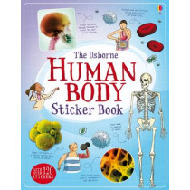 Human Body Sticker Book by Alex Frith, 9781474903691