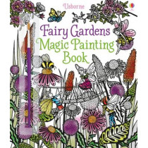 Fairy Gardens Magic Painting Book by Lesley Sims, 9781474904582