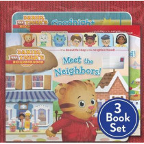 Daniel Tiger Shrink-Wrapped Pack #1: Goodnight, Daniel Tiger; Meet the Neighbors!; Welcome to the Neighborhood by Various, 9781481477772