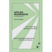 Applied Regression: An Introduction by Colin Lewis-Beck, 9781483381473