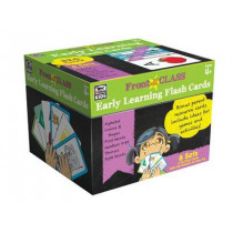 Early Learning Flash Cards, Ages 4 - 8 by Thinking Kids, 9781483830407
