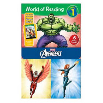 World of Reading Avengers Boxed Set: Level 1 by Dbg, 9781484704387