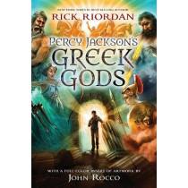 Percy Jackson's Greek Gods by Rick Riordan, 9781484712375