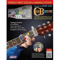 Chordbuddy Learning System: Includes Color-Coded Songbook, Instruction Book, DVD and Chordbuddy Device! by Travis Perry, 9781495007859