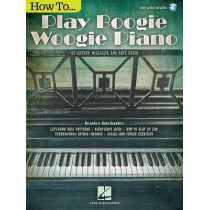 How to Play Boogie Woogie Piano by Dave Rubin, 9781495007910