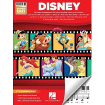 Disney: Super Easy Songbook by Hal Leonard Publishing Corporation, 9781495077401