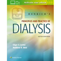 Henrich's Principles and Practice of Dialysis by Edgar Lerma, 9781496318206