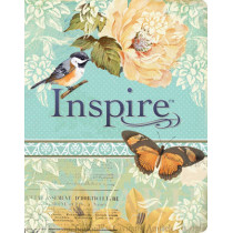 NLT Inspire Bible: The Bible for Creative Journaling, 9781496413734