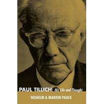 Paul Tillich by Wilhelm Pauck, 9781498207171