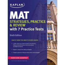 MAT Strategies, Practice & Review by Kaplan Test Prep, 9781506211121