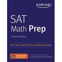 SAT Math Prep by Kaplan Test Prep, 9781506228730