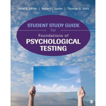 Student Study Guide for Foundations of Psychological Testing by Thomas A. Stetz, 9781506308050