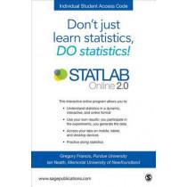STATLAB Online 2.0 Student Slim Pack by Greg Francis, 9781506330105