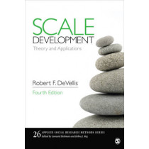 Scale Development: Theory and Applications by Robert F. DeVellis, 9781506341569