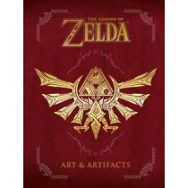 Legend Of Zelda, The: Art & Artifacts by Nintendo USA, 9781506703350