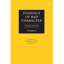Evidence of Bad Character by John Spencer, 9781509900046