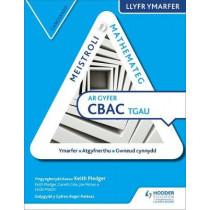 Meistroli Mathemateg CBAC TGAU Llyr Ymarfer: Canolradd  (Mastering Mathematics for WJEC GCSE Practice Book: Intermediate Welsh-language edition) by Keith Pledger, 9781510415690