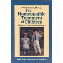 Homeopathic Treat. Children by Paul Herscu, 9781556430909