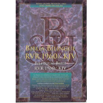 Bible KJV Bilingual Black RVR 1960 HC, 9781558190276