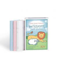 KJV Baby's New Testament, Pink Imitation Leather by Holman Bible Staff, 9781558190429
