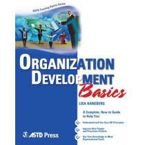 Organization Development Basics by Lisa Haneberg, 9781562864118