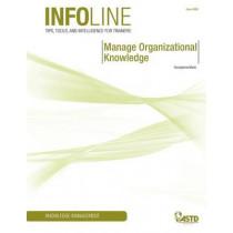 Manage Organizational Knowledge by Georgianna Marie, 9781562865955