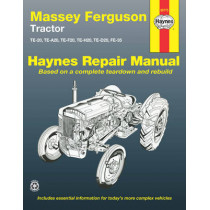 Massey Ferguson Tractor by Haynes Publishing, 9781563929656
