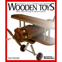 Great Book of Wooden Toys by Norm Marshall, 9781565234314