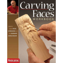 Carving Faces Workbook by Harold L. Enlow, 9781565235854