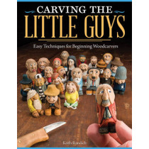 Carving the Little Guys by Keith Randich, 9781565237759