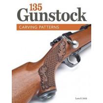 135 Gunstock Carving Patterns by Lora S. Irish, 9781565237957