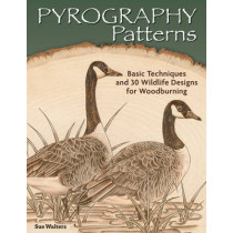 Pyrography Patterns by Sue Walters, 9781565238190