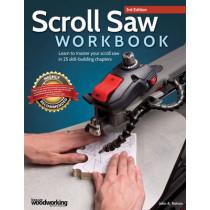 Scroll Saw Workbook, 3rd Edition by John A. Nelson, 9781565238497