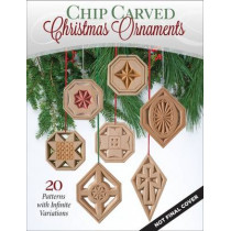 Chip Carved Christmas Ornaments by Bruce Nicholas, 9781565238817