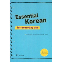 Essential Korean For Everyday Use (with Cd) by Sungmi Kwon, 9781565912496