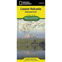 Lassen Volcanic National Park: Trails Illustrated National Parks by National Geographic Maps, 9781566956796