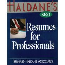 Haldane's Best Resumes for Professionals by Bernard Haldane Associates, 9781570231094