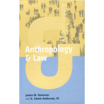 """Anthropology and Law by Rob """"Donovan"""", 9781571814234"""
