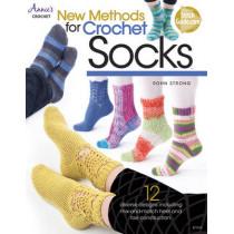 New Methods for Crochet Socks: 12 Diverse Designs by Rohn Strong, 9781573677714