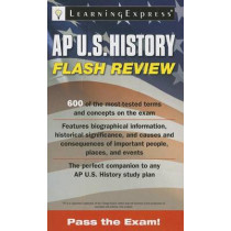 AP U.S. History Flash Review by Learning Express LLC, 9781576859193