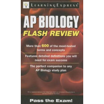 AP Biology Flash Review by LearningExpress LLC, 9781576859216