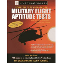 Military Flight Aptitude Tests by Learningexpress LLC, 9781576859278